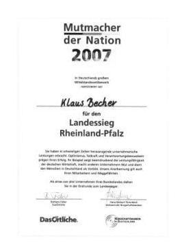 Mutmacher der Nation 2007